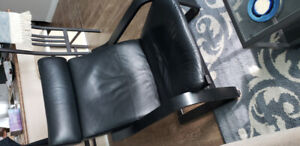Faux Leather  Pöang Chair from IKEA