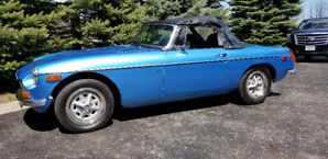 1974 MGB with OVERDRIVE