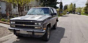 1990 Chevrolet Blazer 1500 Silverado K5 5.7 v8