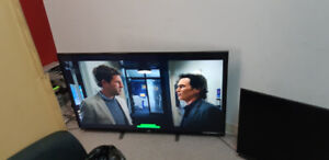 """55"""" & 43"""" Harier LED TV's  for sale due to moving $550"""