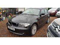 BMW 1 SERIES 116d ES (black) 2010