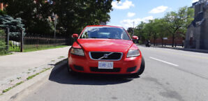 Volvo V50 2008 manual red 129k