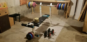 Workout Bench York 0110 for incline and flat
