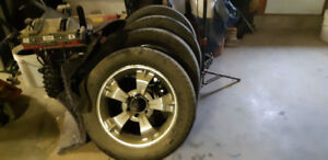 20 inch chrome rims come off 2008 gmc 1500 truck