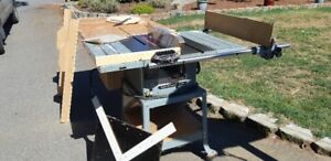 "10"" Delta Contractors Table Saw"