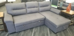 PRICE REDUCED Convertible Sofa Bed with Hidden Storage
