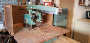 Dewalt Radial Arm Saw 110 or 220