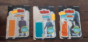 5 Vintage Star Wars card backs for sale, $40 for the lot