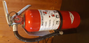 Multi purpose dry chemical fire extinguisher