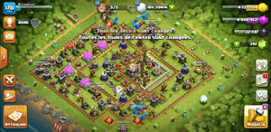 Compte clash of clan lvl 170