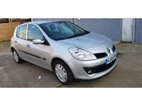 Renault Clio 1.6 VVT ( 111bhp ) ( a/c ) auto Expression 5dr FSH 1 Owner Warranty