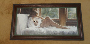 "Steve Hanks  ""Her Domain"" - Canvas - 35x16 - Limited Edition AP"