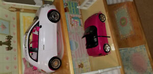 Barbie cars - fits a typical size barbie doll 2 for $25