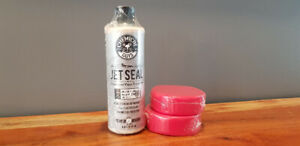 Chemical Guys: Jetseal Paint Sealant 16oz + FREE Applicator Pads