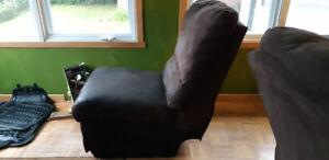 Section de sofa. Microfibre brun