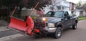 Plow truck Ford F250