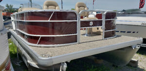 2018 Sweetwater 1680 Fish n Ski pontoon boat