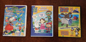 Various Kids DVDs - Toopy/SuperWhy/TimmyTime