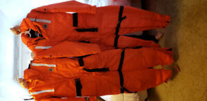 Mustang classic flotation suits