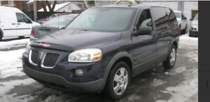 2009 Pontiac Montana SV6 EXT wheel base