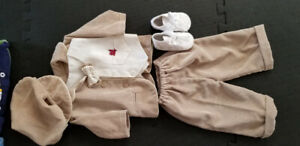 Elegant Baby christening outfit for boy 6months