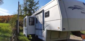 1999 holiday rambler 5th wheel camper