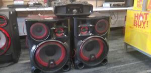 LG 4800 Watt DJ System