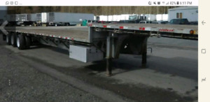Used stepdeck trailer for rent and sale