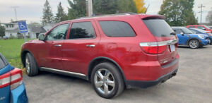 2011 Dodge Durango Citadel with trailer tow package