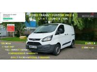 2017 Ford Transit Custom 2.0 280 EcoBlue L1 H1 EU6 5dr - 1 OWNER, FSH, 1YR MOT,