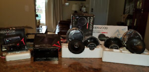KENWOOD EXCELON CAR AUDIO SYSTEM