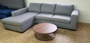 Brand New Grey Modern Sectional - Canadian Made - Super Comfy