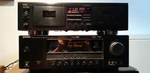 Yamaha Reciever/Tape deck