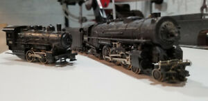 Model train engines HO scale