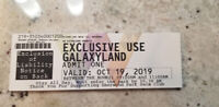 Galaxy land fundraiser all day rides