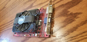 Video card (carte graphique) HD6670-2GD3 -2Gb