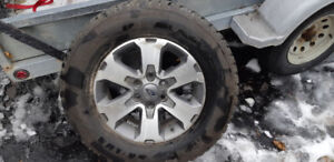 Winter tires 275/65/18R on ford rims