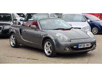 2005 Toyota MR2 1.8 VVT-i Roadster Red 140Bhp Warranty available Px welcome