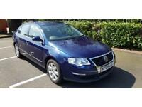 Volkswagen Passat 2.0 TDI SE Diesel 4dr Blue Excellent car FSH 2 Owners Warranty