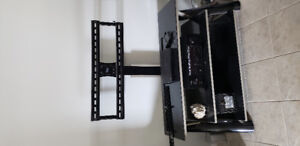Flat screen TV stand to give away.