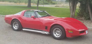 1980 corvette and 1928 model A Leatherback  will trade both