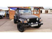 1997 Jeep Wrangler 4.0 PETROL MANUAL BLACK MAT BODY RENOVATION BY OUR GARAGE