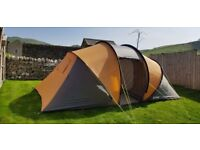 Outwell Casagrande L Plus 4 Berth Tent, Two seperate Bedrooms Excellent Condition