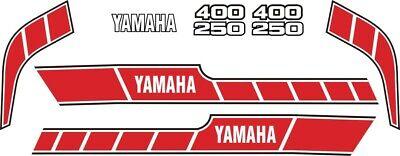 <em>YAMAHA</em> RD 400250 E DECAL KIT