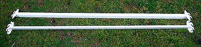 - Set of  Double Hook, Hook on  Steel Bed Rails - Full or Twin Size  75-76