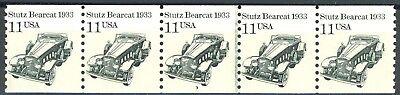 Stutz Bearcat 1933 Transportation Coil Mnh Pnc5 Plate 3 Scotts 2131         S