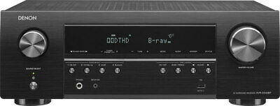 Denon AVR-S540BT Receiver, 5.2 channel, 4K Ultra HD Audio an