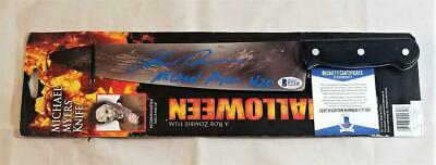 CHRIS DURAND SIGNED MICHAEL MYERS HALLOWEEN PROP KNIFE BECKETT COA 120 (Chris Durand Halloween)