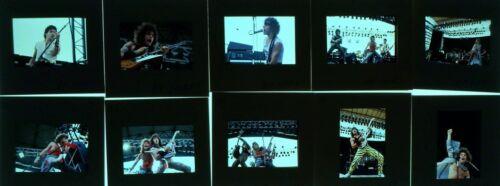 10 1985 BON JOVI ROCK BAND CONCERT PHOTO negative transparency  BY HIKI #7