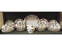 39 piece Royal Sutherland fine bone china Tea Set.Vintage, Shabby chic